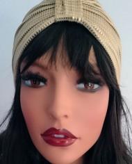 Turban –  Guld – Trend – Hat – Unik – Skræddersyet 2