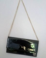 Taske – Kunstlak – Guldkæde – Genbrug – Trend 2