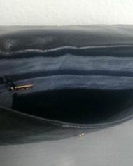 Retro – Clutch – Læder – Genbrug – Trend – Indeni