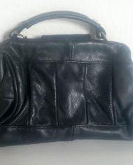 Retro – Håndtaske – Læder – Genbrug – trend – Bagfra