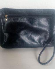 Retro – Manpurse – Rejsetaske – Læder – Genbrug – Trend – Bagfra