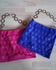 pink-blaa-taske-ruskind-nitter-60s-look-genbrug-trend