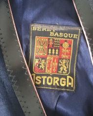Barét – Uld – Fransk – Mørkeblå – Klassisk – Vintage – Genbrug – Trend – Mie Arida – indeni – Nærbillede