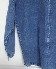 Skjorte – Denim – Aplikationer – 80'erne – Oversize – Retro – Genbrug – Trend – Mie Arida – Bagfra – Fejl