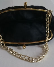 Selskabstaske – Sort – Guld – Vintage – Genbrug – Trend – Mie Arida – Indeni 2