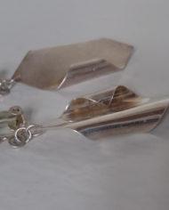 Øreclips – Sølv- Retro – Vintage – Trend – Mie Arida – Bagfra 2