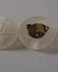 Øreclips – Store – Plast – Retro – Genbrug – Trend – Mie Arida – Bagfra