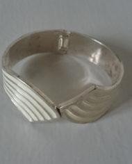 Armbånd – Armring – Sølv – Emalje – Vintage – Genbrug – Trend – Mie Arida – 3