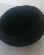 Hat – Halvrund – Klassisk – Sort – Vintage – Genbrug – Trend – Mie Arida – Bagfra