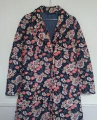 Housecoat – Quiltet – Retro – Genbrug – Trend – Mie Arida – Detaljer