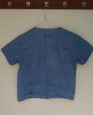 Skjortebluse – Denim – 90'erne – Retro – Genbrug – Trend – Mie Arida – Bagfra