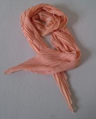 Tørklæde – Plisse – Fersken – Vintage – Genbrug – Trend – Mie Arida – 2