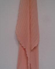 Tørklæde – Plisse – Fersken – Vintage – Genbrug – Trend – Mie Arida – Bagfra