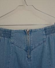 Nederdel – Denim – Midi – Knapper – Retro – Genbrug – Trend – Mie Arida – Nærbillede Bag