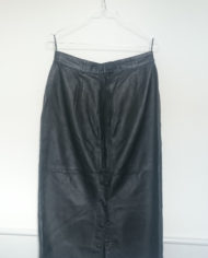 Nederdel – Læder – 80's – Retro – Genbrug – Trend – Mie Arida – Bagfra 2