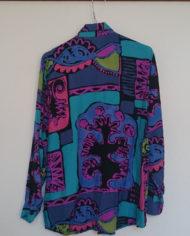Skjorte – 80's – Multifarvet – Retro – Genbrug – Trend – Mie Arida – Bagfra