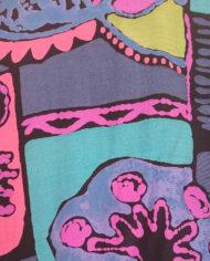 Skjorte – 80's – Multifarvet – Retro – Genbrug – Trend – Mie Arida – Nærbillede