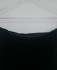 Nederdel – Velour – Hellang – 90's – Retro – Genbrug – Trend – Mie Arida – Detalje