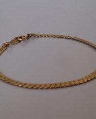 Armbånd – Guld – Enkelt – Vintage – Genbrug – Trend – Mie Arida – Forfra