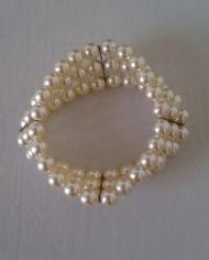 Armbånd – Perler – Guld – Vintage – Genbrug – Trend – Mie Arida – Bagfra