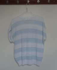 Bluse – Strik – Stribet – 80'er – Retro – Genbrug – Trend – Mie Arida – Bagfra