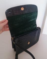 Dametaske – Krokodille – Marineblå – Belsac – Vintage – Genbrug – Trend – Mie Arida – Indeni2