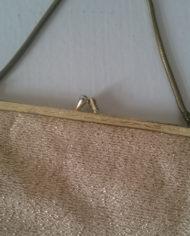Selskabstaske – Guld – Vintage – Genbrug – Trend – Mie Arida – Detaljer