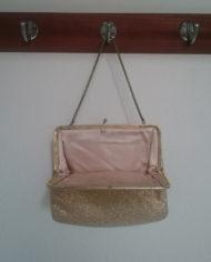 Selskabstaske – Guld – Vintage – Genbrug – Trend – Mie Arida – Indeni