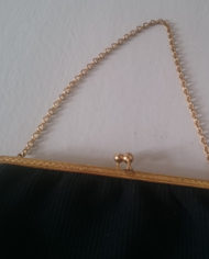Selskabstaske – Sort – Diamant – Vintage – Genbrug – Trend – Mie Arida – Detaljer