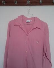 Skjorte – Lyserød – Oversize – 80'erne – Vintage – Genbrug – Trend – Mie Arida – Detaljer