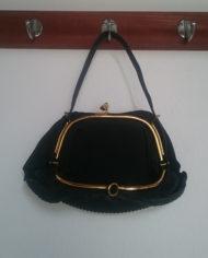 Taske – Sort – Plisse – Vintage – Genbrug – Trend – Mie Arida – Indeni