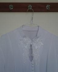 Skjorte – Crepe – Blonde – 80's – Vintage – Genbrug – Trend – Mie Arida – Detalje 2