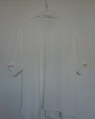 Skjorte – Korte ærmer – Blonde – Vintage – Genbrug – Trend – Mie Arida – Bagfra