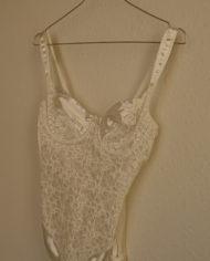 Bodystocking – Undertøj – Blonder – Sexet – Retro – Genbrug – Trend – Mie Arida – Siden