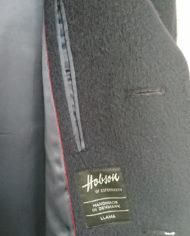Frakke – Herre – Hellang – Raglan – Uld – 60'erne – Vintage – Genbrug – Trend – Mie Arida – Nærbillede