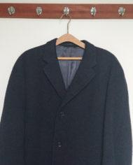 Frakke – Herre – Midi – Raglan – Uld – 60'erne – Vintage – Genbrug – Trend – Mie Arida – Nærbillede 2