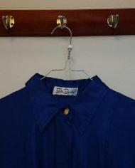 Skjortekjole – Flagermusærmer – Oversize – 80'erne – Retro – Genbrug – Trend – Mie Arida – Nærbillede