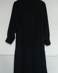 Frakke – Uld – Hellang – Dame – Marineblå – Vintage – Genbrug – Trend – Mie Arida – Bagfra