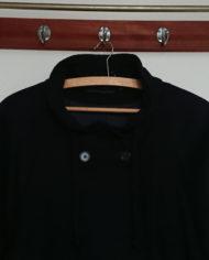 Frakke – Uld – Hellang – Dame – Marineblå – Vintage – Genbrug – Trend – Mie Arida – Detaljer 2