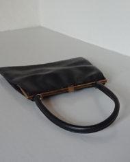 Håndtaske – Dame – Læder – Sort – 70's – Boxco – Vintage – Genbrug – Trend – Mie Arida – Liggende