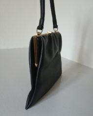 Håndtaske – Dame – Læder – Sort – 70's – Boxco – Vintage – Genbrug – Trend – Mie Arida – Siden