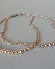 Halskæde – Perler – Fake – Vintage – Genbrug – Trend – Mie Arida – For