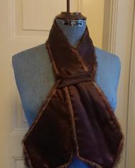 Pels – Tørklæde – Krave – Mink – Vintage – Genbrug – Trend – Mie Arida – Bagfra