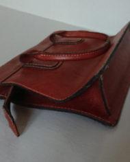 Taske – Læder – Cognac – Bel Sac – 70's – Vintage – Genbrug – Trend – Mie Arida – Bund