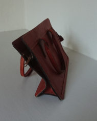 Taske – Læder – Cognac – Bel Sac – 70's – Vintage – Genbrug – Trend – Mie Arida – Siden