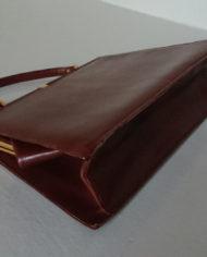 Taske – Læder – Cognac – Bon Gout – 60's – Vintage – Genbrug – Trend – Mie Arida – Bund