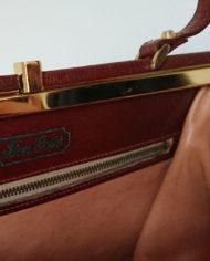 Taske – Læder – Cognac – Bon Gout – 60's – Vintage – Genbrug – Trend – Mie Arida – Indeni 2