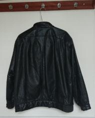 Jakke – Oversize – Læder – 80's – Retro – Genbrug – Trend – Mie Arida – Bagfra