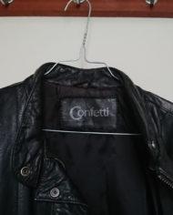 Jakke – Oversize – Læder – 80's – Retro – Genbrug – Trend – Mie Arida – Detaljer