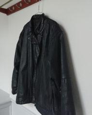 Jakke – Oversize – Læder – 80's – Retro – Genbrug – Trend – Mie Arida – Siden